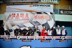 Sebastian Carazo, Rhamses Carazo, Dan Hardee, Buford Skip McCusker of TLM USA, Gilberto Pinzon, Javier Pinzon, William Corredor, Carlos Corridor of Bucket List Racing