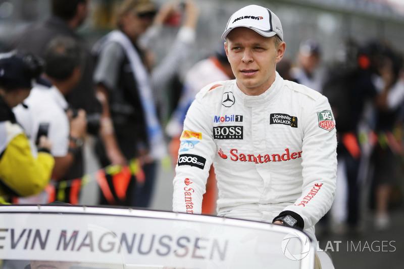 #17 Kevin Magnussen, McLaren