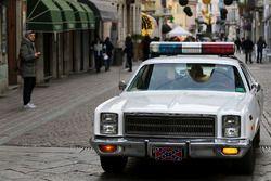 La voiture du shérif de Shérif fais-moi peur