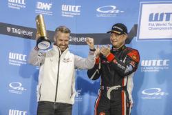 Podium: Tiago Monteiro, Honda Racing Team JAS, Honda Civic WTCC et Rob Huff, All-Inkl Motorsport, Citroën C-Elysée WTCC