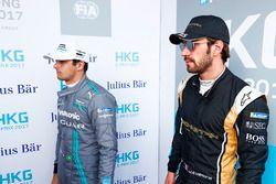 Nelson Piquet Jr., Jaguar Racing, and Jean-Eric Vergne, Techeetah