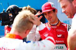 Lucas di Grassi, Audi Sport ABT Schaeffler, il poleman Felix Rosenqvist, Mahindra Racing