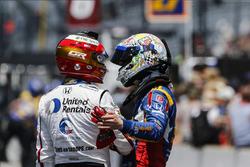 Graham Rahal, Rahal Letterman Lanigan Racing Honda,Alexander Rossi, Andretti Autosport Honda