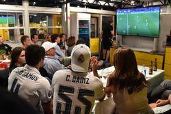 Carlos Sainz Jr., Renault Sport F1 Team bekijkt de Champions League finale