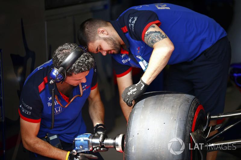 Changement de volant chez Toro Rosso