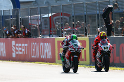 Eugene Laverty, Milwaukee Aprilia, Xavi Fores, Barni Racing Team