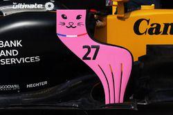 Renault Sport F1 Team RS17 bodywork detail