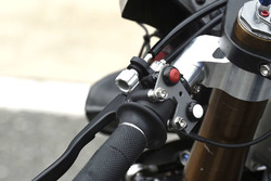 Xavi Vierge, Tech 3 Racing bike detail