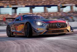 Mercedes AMG GT3 (Team Hot Wheels #68), Project Cars 2