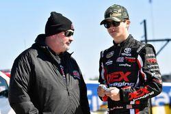 Harrison Burton, Kyle Busch Motorsports, Toyota Tundra DEX Imaging and Mike Hillman Jr