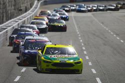 Ryan Blaney, Team Penske, Ford Fusion Menards/Libman