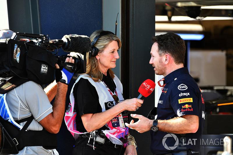 Луіс Гудман, керівник Red Bull Racing Крістіан Хорнер