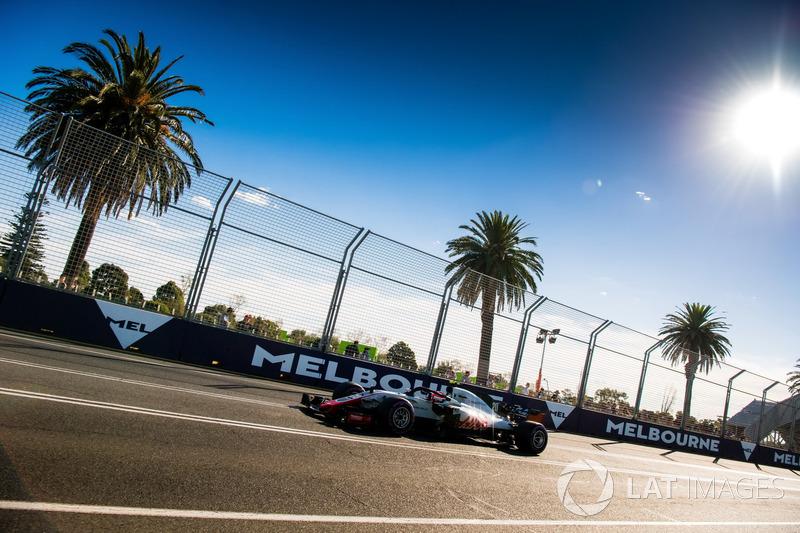 A 'pataquada' mais marcante da Haas aconteceu no GP da Austrália do ano passado