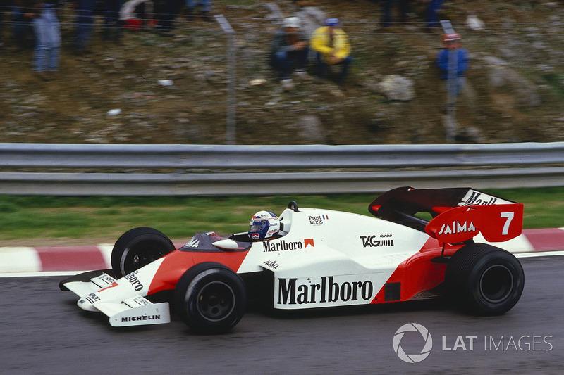 Alain Prost: McLaren (1980 y 1984-1989)