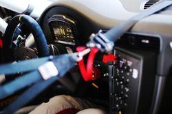 Porsche 911 GT3 Cup, dettaglio dell'abitacolo