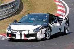 Ferrari 488 Hybrid spy shot