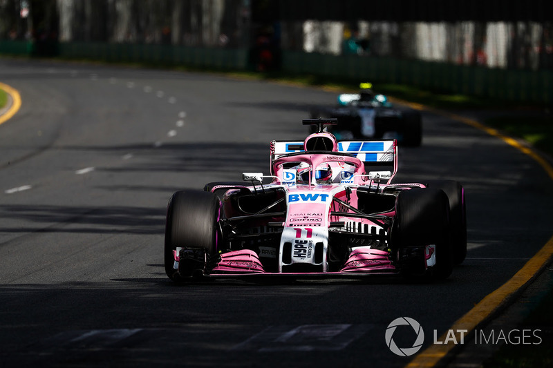 Sergio Pérez, Force India VJM11 Mercedes