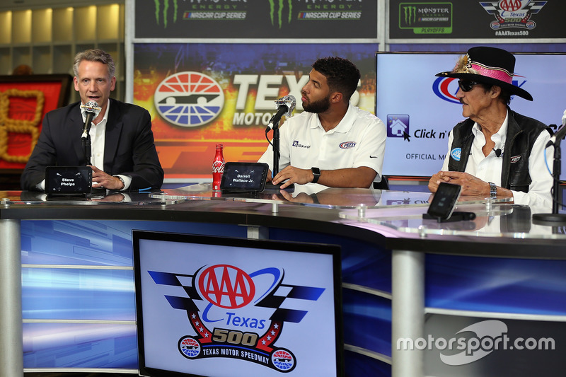 Steve Phelps, Darrell Wallace Jr., King Richard Petty