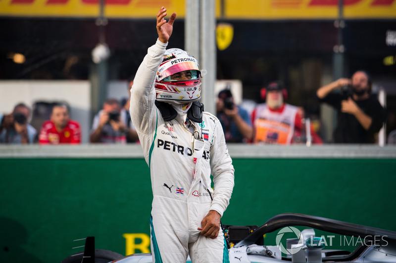 Lewis Hamilton ha comenzado la carrera en 7 ocasiones en Melbourne desde la Pole Position