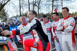 Jari-Matti Latvala, Toyota Racing, Kris Meeke, Paul Nagle, Citroën World Rally Team, Craig Breen, Scott Martin, Citroën World Rally Team