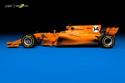 Концепт ливреи Mclaren-Renault для сезона-2018