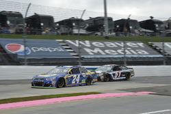 Чейс Эллиотт, Hendrick Motorsports Chevrolet и Кайл Везерман, Rick Ware Racing Chevrolet