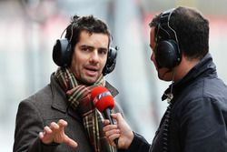Ted Kravitz, Sky TV, Marc Priestley, eski McLaren ve Super Aguri F1 mekanikeri