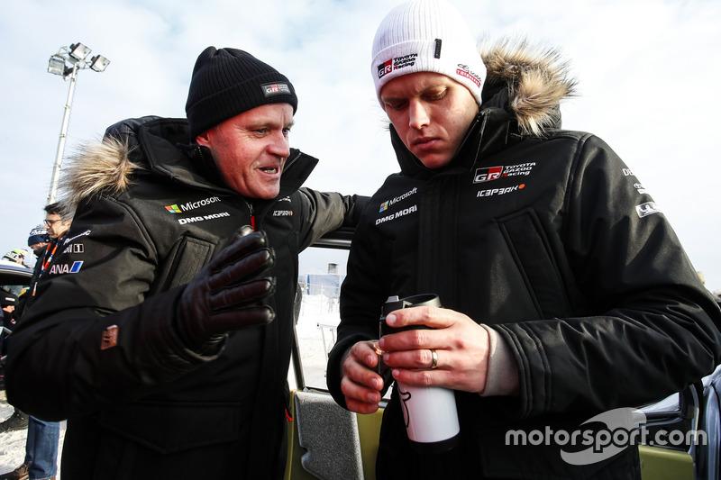 Tommi Makinen, Ott Tanak, Toyota Gazoo Racing
