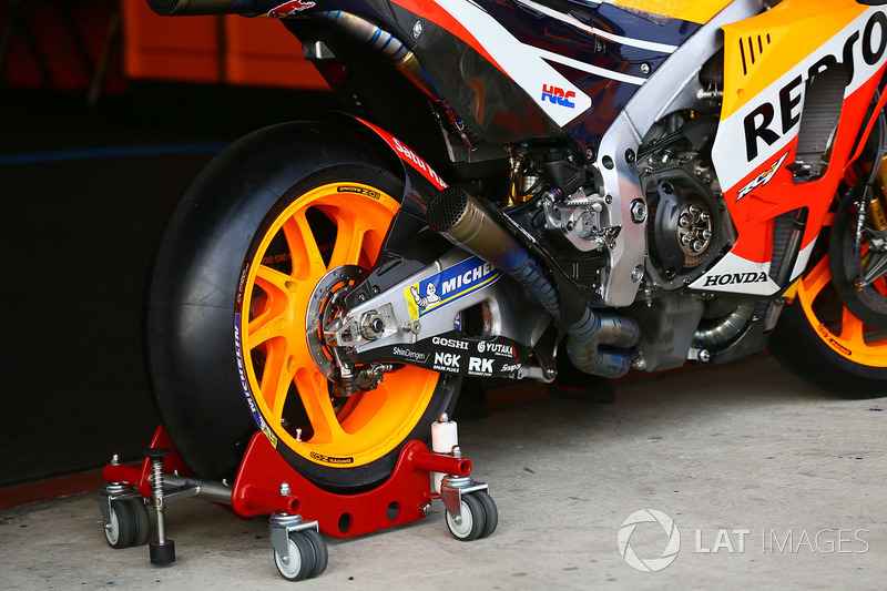 Repsol Honda Team bike trolly