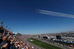 US Air Force Thunderbirds flyover