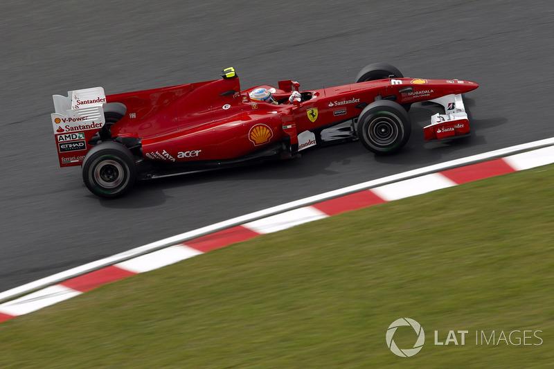 2010年:フェラーリF10