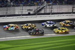 Kyle Busch, Joe Gibbs Racing Toyota, Erik Jones, Joe Gibbs Racing Toyota, Trevor Bayne, Roush Fenway