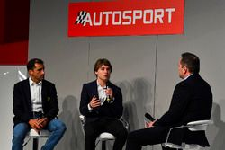 Marc Gene and Jody Fannin speak to Henry Hope-Frost on the Autosport Stage