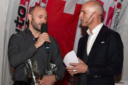 Sébastien Carron à la cérémonie de remise du prix ASS à Berne