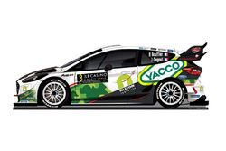 Ливрея Ford Fiesta WRC Бриана Буфье