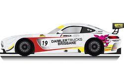 Mark Griffith Mercedes AMG GT3 entry
