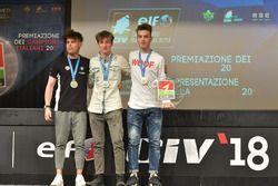 Premiazione CIV Moto3 2017