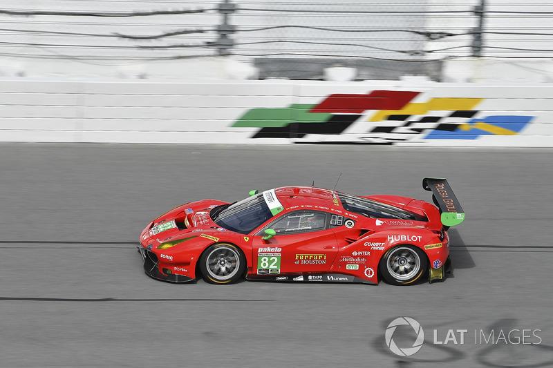 #62 Risi Competizione Ferrari 488 GTE, GTLM: Alessandro Pier Guidi, Toni Vilander, James Calado, Davide Rigon