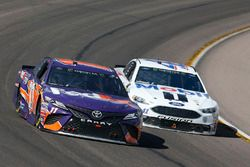 Denny Hamlin, Joe Gibbs Racing, Toyota Camry FedEx Freight Kurt Busch, Stewart-Haas Racing, Ford Fusion Mobil 1/Haas Automation