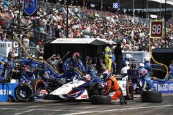 Graham Rahal, Rahal Letterman Lanigan Racing Honda au stand