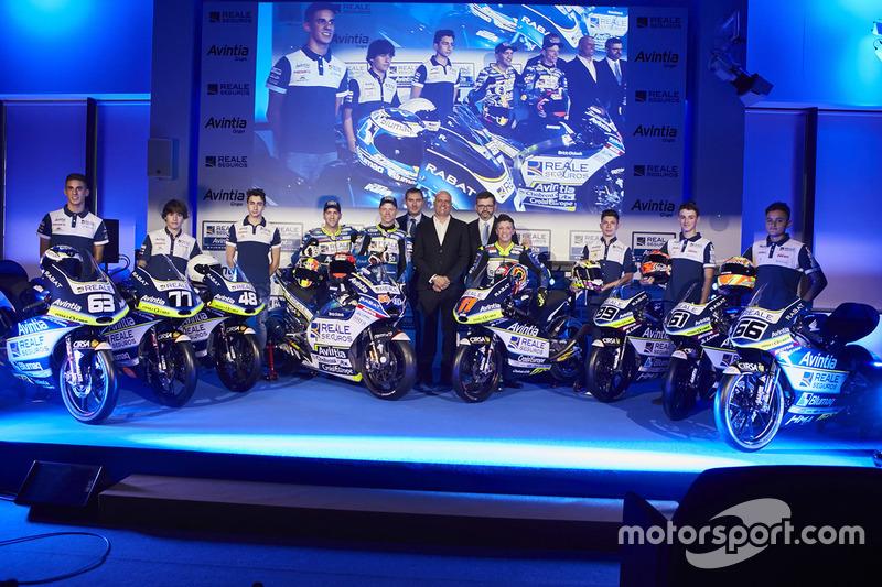 Avintia Racing presentatie