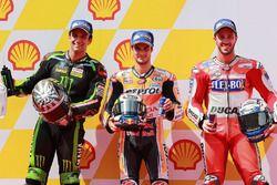 Pole Dani Pedrosa, Repsol Honda Team, segundo Johann Zarco, Monster Yamaha Tech 3, tercero Andrea Do