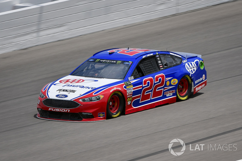 9. Joey Logano, Team Penske, Ford Fusion AAA Insurance