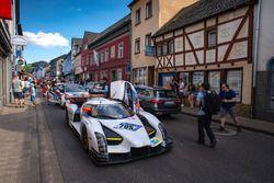 #705 Scuderia Cameron Glickenhaus SP-X SCG003c: Franck Mutsch, Thomas Mutsch, Franck Mailleux, Andreas Simonsen, Jeff Westphal