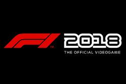 F1 2018 video game logo