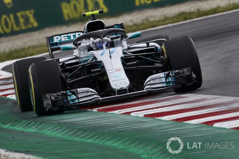 2. Valtteri Bottas, Mercedes AMG F1 W09