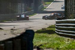 #8 DKR Engineering Ligier JS P3 - Nissan: Alexander Toril, Jean Glorieux, Miguel Toril, incidente