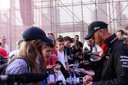 Lewis Hamilton, Mercedes-AMG F1 at the autograph session