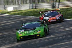 #19 GRT Grasser Racing Team Lamborghini Huracan GT3: Ezequiel Perez Companc, Raffaelle Gianmaria, Marco Mapelli