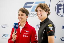 Ник де Врис, Pertamina Prema Theodore Racing, и Роберто Мери, MP Motorsport